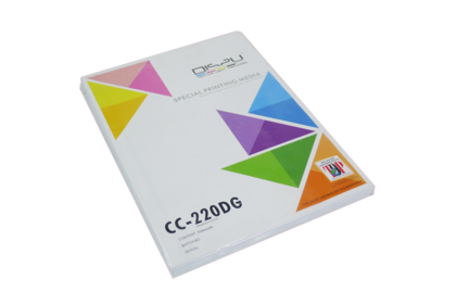 CC-220DG A4 DOUBLE GLOSS INKJET COATED CARD 50's