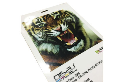 CPS A4 CRYSTAL PHOTO STICKER 20's